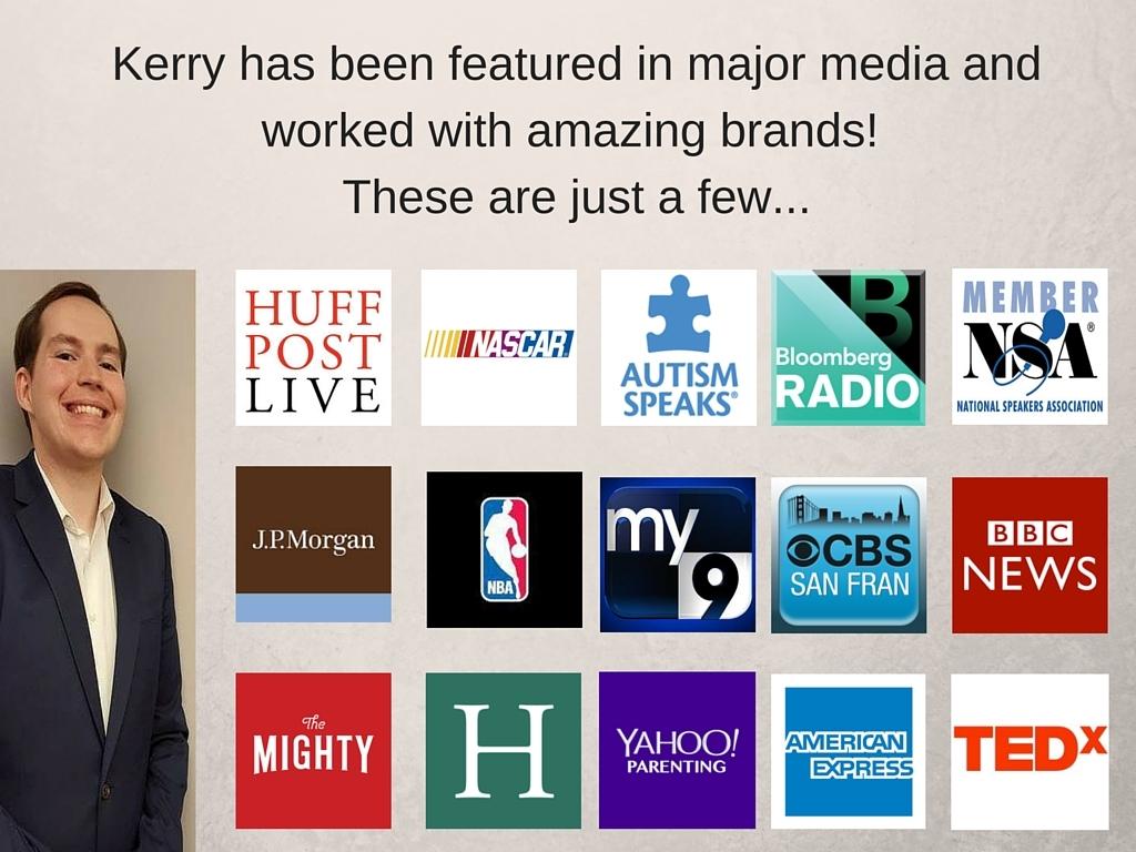Kerry has been featured in major media (1)