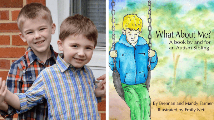 A Book By and For An Autism Sibling What About Me?